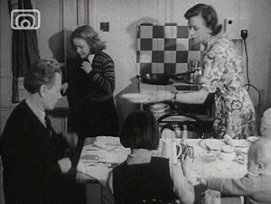 Film Still from A Day in the Home