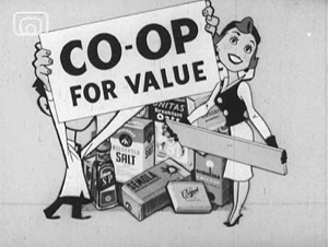 Still frame from 'Co-op Adverts'