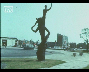 Still frame from 'New Towns'