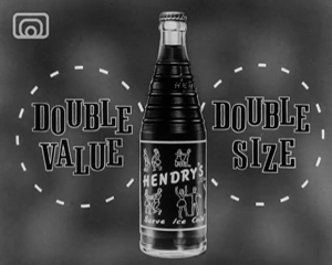 Film Still from an advert for Hendry's Cola
