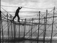 Still image from the film 'Up Stream'