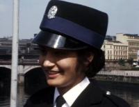 A young police officer