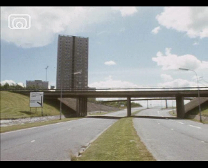 Still frame from 'Gallimaufrey - A Cumbernauld Poem'